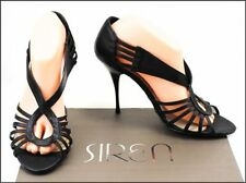 Siren Leather Open Toe Shoes for Women