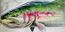 Ed Anderson Rainbow Kiped Out Giclee on Canvas 30 x 60