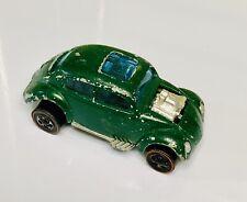 Hot Wheels Redline Green Enamel HK Custom Volkswagen VW Bug