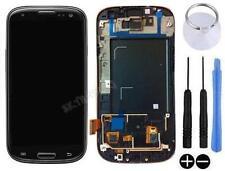 ECRAN LCD + VITRE TACTILE SUR CHASSIS POUR SAMSUNG GALAXY S3 4G i9305 LTE NOIR