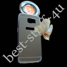 Mirror Crystal a45  Bling Silicone Soft Gel Case Back Cover Fits Samsung Galaxy