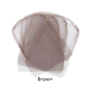 1x Lace Mesh For Wig Caps Hair Net Weaving Mesh For Making Wigs
