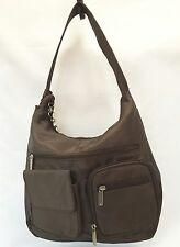 Travelon Est.1978 Brown Nylon Medium Shoulder Bag
