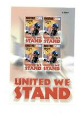 SPECIAL LOT Bhutan 2002 1358 - United We Stand - 36 Stamps - MNH Sheets