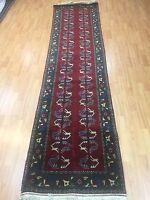 """2'5"""" x 9'6"""" New Afghan Floor Runner Oriental Rug - Hand Made - 100% Wool"""