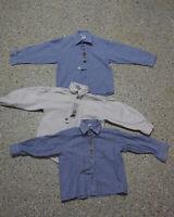 3 tlg. Jungen Kinder Trachten Konvolut in Größe 116 Hemden L184