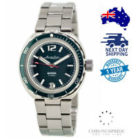 VOSTOK Amphibian 960758 Neptune Automatic Military Russian Diver Watch