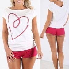 Pijamas y batas de mujer sin marca 100% algodón