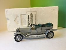 FRANKLIN MINT DIECAST CAR PRECISION MODEL 1907 ROLLS ROYCE SILVER GHOST BOX RARE