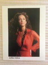 Sofia Milos #4 original headshot photo with credits, training & skills
