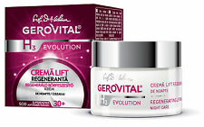 Crema anti age rigenerante notte anti rughe Lift Gerovital H3 Evolution 30+