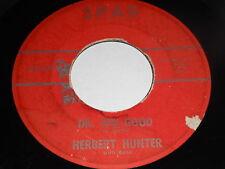 Herbert Hunter: Dr Feel-Good / The Twistin' Party 45