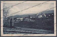 VARESE CUNARDO 13 BINARI FERROVIA Cartolina viaggiata 1924