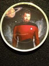 Commander William T Riker Star Trek Plate Collection
