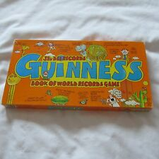 1979 THE GUINNESS BOOK OF WORLD RECORDS GUINESS BOARD GAME JEU COMPLETE