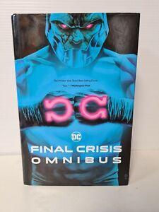 Final Crisis Omnibus by Grant Morrison free p&p see description