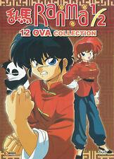 DVD Ranma 1/2 12 OVA Collection English Dubbed Japanese Anime