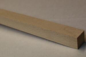 Linden-Vierkantleisten 1,0  Meter  lang  Verkauf /1 Stück