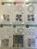 Sizzix Framelits Stamp & Die Set Pick 1 of 9 Stamps & Dies NEW