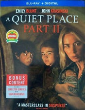 A Quiet Place: Part II (Blu-ray, Digital, Slipcover) NEW Sealed Emily Blunt