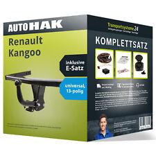 Anhängerkupplung starr RENAULT Kangoo +E-Satz KIT kpl. NEU inkl. EBA