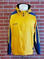 Columbia Long Sleeve Full Zip Lightweight Windbreaker Nylon Jacket Mens Large