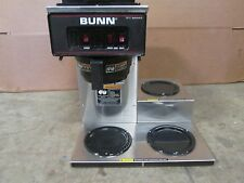 Bunn Vp17 3 Hd Commercial Nsf Pour Over Coffee Brewer With3 Pot Warmers