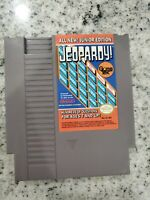 Jeopardy Junior Edition Nintendo (1989) NES Game Cartridge ONLY Used NM Label