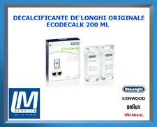 DECALCIFICANTE DE LONGHI ECODECALK 200ML 5513296011 X TUTTE LE MACCHINE DA CAFFÈ