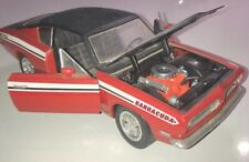1:18 Scale Road Signature Red 1969 Plymouth Barracuda 383 Die-cast