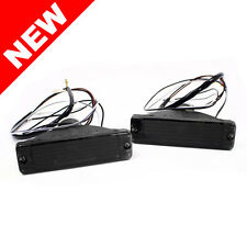VW MK2 JETTA SM BUMPER TURN SIGNAL LIGHTS CRYSTAL SMOKE