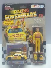Racing Champions Superstars figure with car #68 Bobby Hamilton