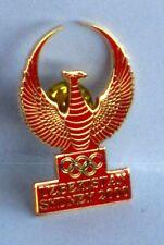 UZBEKISTAN TEAM MEMBER OFFICIAL UNIFORM BADGE SYDNEY 2000 OLYMPIC GAMES PIN #16