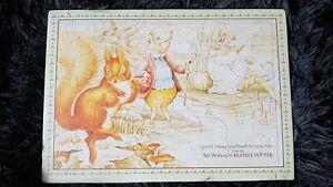 BNIP Beatrix Potter 24 Piece Puzzle Series J311 Squirrel Nutkin, Jeremy Fisher,