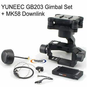 Yuneec Q500 Gimbal Jeu + MK58 Wifi Module 5,8 GHZ GOPRO Hero 3 4 H Scellé