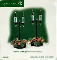 Department 56 Christmas in the City Holiday Street Lights 59427