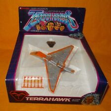 VINTAGE 1983 80s BANDAI TERRAHAWKS No. 0988702 TERRAHAWK ACTION MODEL BOXED RARE