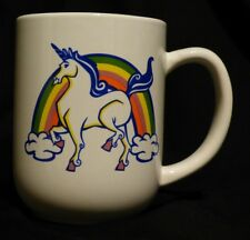 Unicorn and Rainbow Mug - Rainbows, coffee, tea, chocolate, hot beverages c