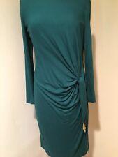 Escada Green Long Sleeve Dress Size 40 (US 10)