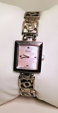 Classy Mother Of Pearl Ladies Silver Tone Dress Watch by Pulsar