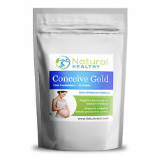 60 Conceive Gold -Pregnancy Care Nutrients, Healthy Ovulation, female productive