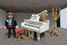 Playmobil - Boda - Piano Pianista Musica Taburete Partitura - 4309 - (COMPLETO)