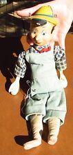 Vintage Disney Enterprises Pinnochio  Puppet 1940's Doll Marionette
