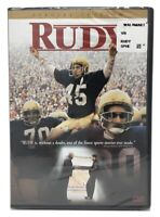 RUDY Special Edition DVD Video, Sean Astin-Region 1-Brand New/Factory Sealed