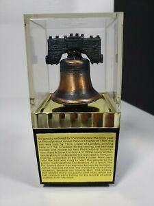 Vintage Liberty Bell Coin Money Bank by Mayville Plastics Inc Made in USA