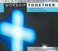 VARIOUS ARTISTS - WORSHIP TOGETHER PLATINUM EDITION: I COULD SING OF YOUR LOVE F