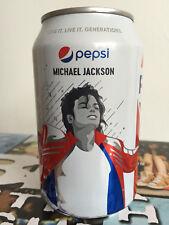 Pepsi Cola European Can - 1 x 330ml - Michael Jackson Memorabilia - Expire 07/19