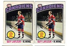 1X GUY LAFLEUR 1976 77 OPC #163 VG O Pee Chee Canadiens Lots Available