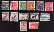 Newfoundland Collection from the Defintives Issues Used