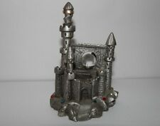 Spoontiques Pewter Wizard's Eye Castle with Crystals Rf657